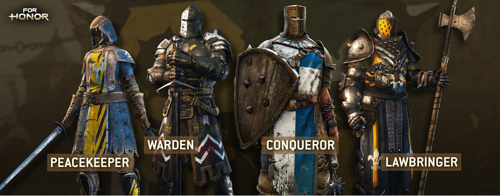 For Honor classes Knights