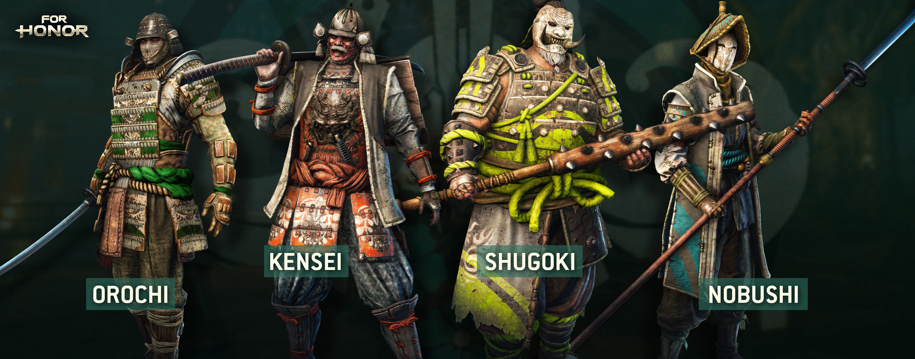 For Honor classes Samurai