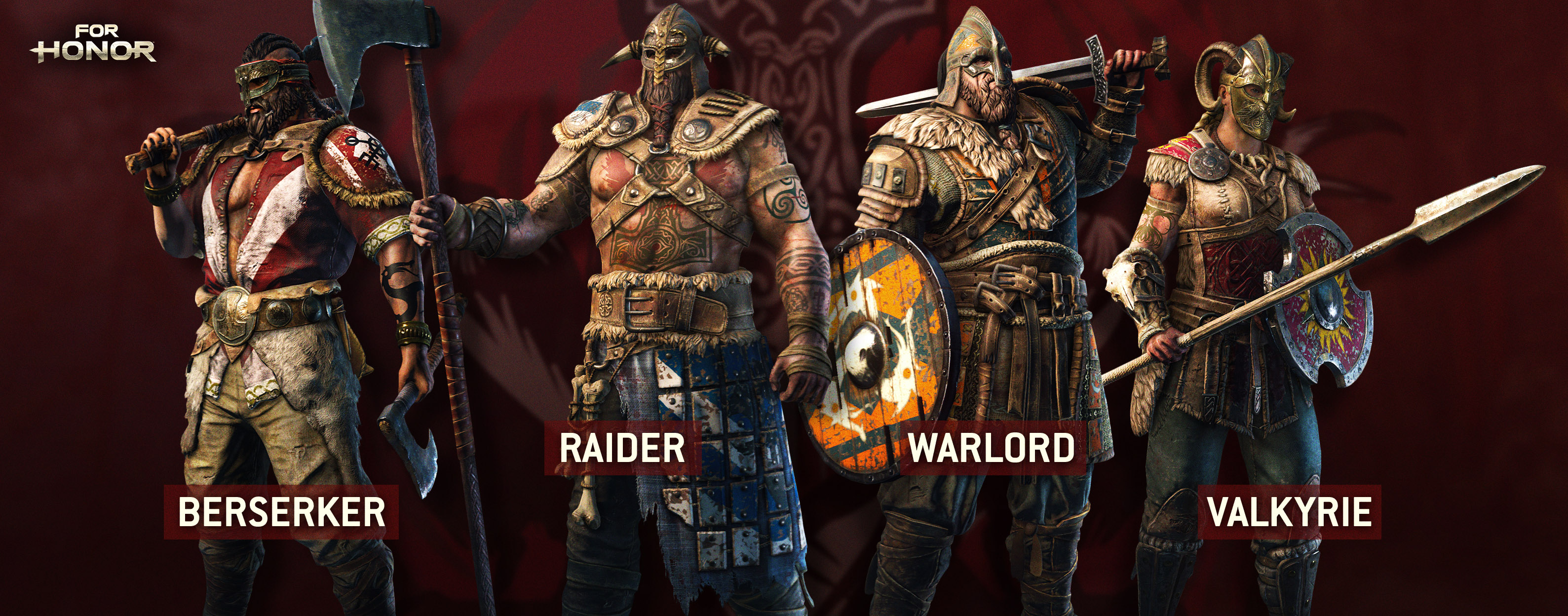 For Honor Viking classes
